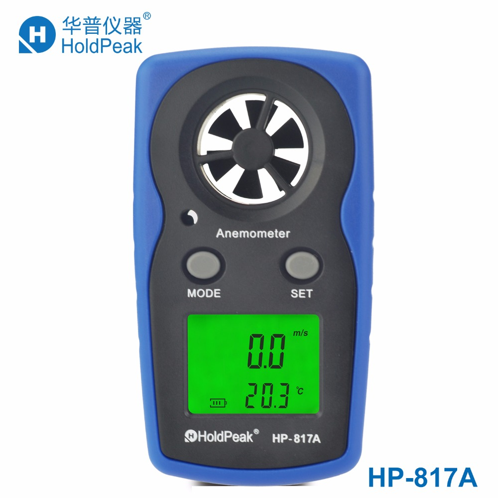 все цены на HoldPeak HP-817A Digital Anemometer Speed Measuring Instruments Tachometer Wind Speed Meter Handheld with Carry Bag Anemometer онлайн