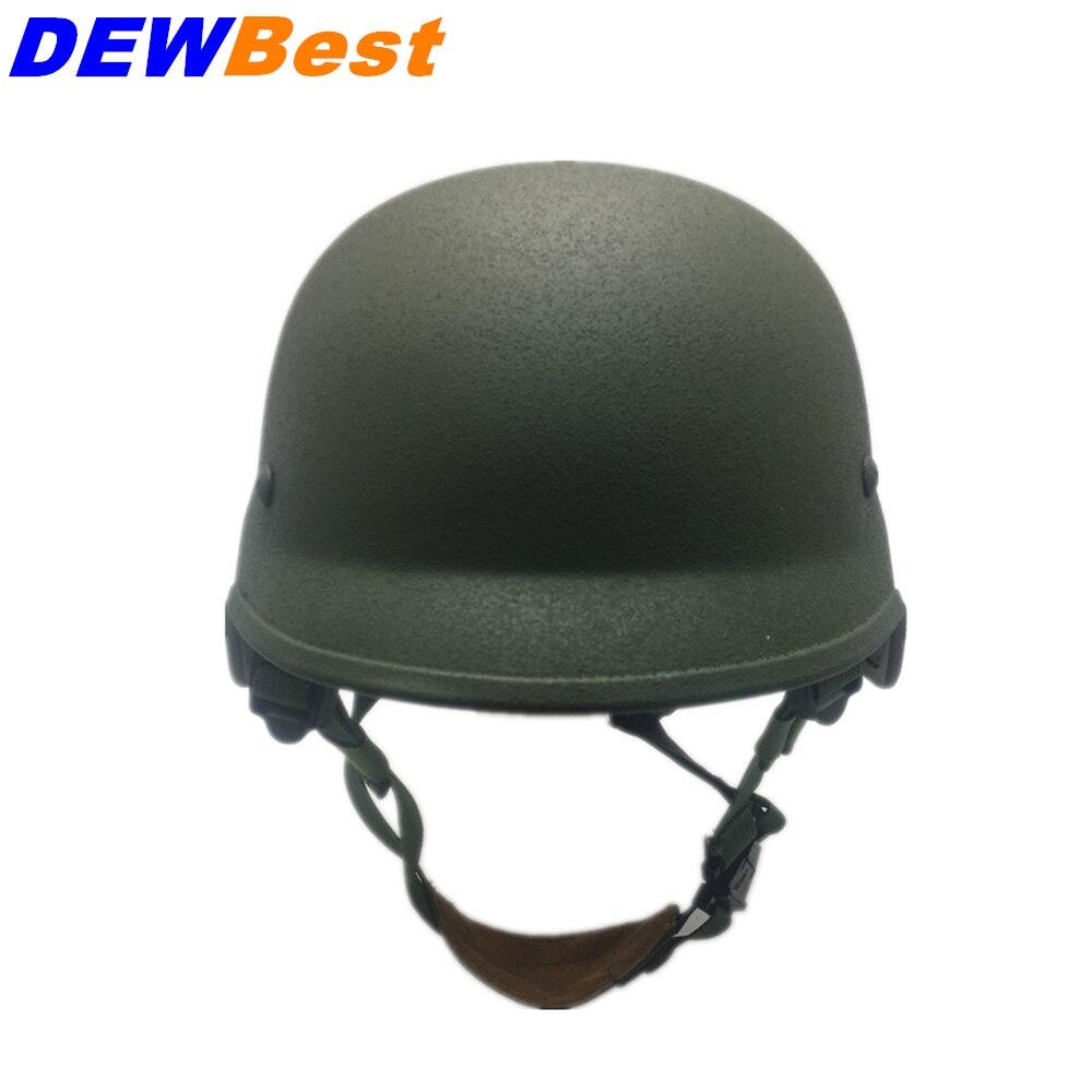 bilder für DEWBest BIIIA Präzision Helm Military gewehrkugel helme Kampf TopKevlar Kugelsichere Helme NIJ IIIA Ballistische helme