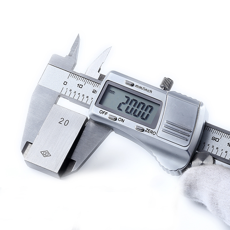 Industrial Digital Display Caliper, High Precision Vernier Caliper Stainless Steel 0-150-200-300mm Ruler