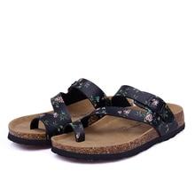 Men Fashion Cork Sandals Slipper 2017 New Male Summer Mixed Color Casual Beach Slip on Flip Flops Slides Shoe Flat 35-45 цены онлайн