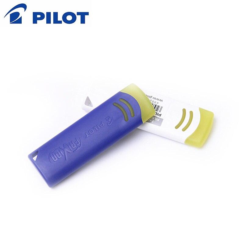 Piloto FriXion 2 uds goma especialmente para bolígrafo borrable goma pluma borrable bolígrafo bolígrafos material de oficina, papelería EFR-6