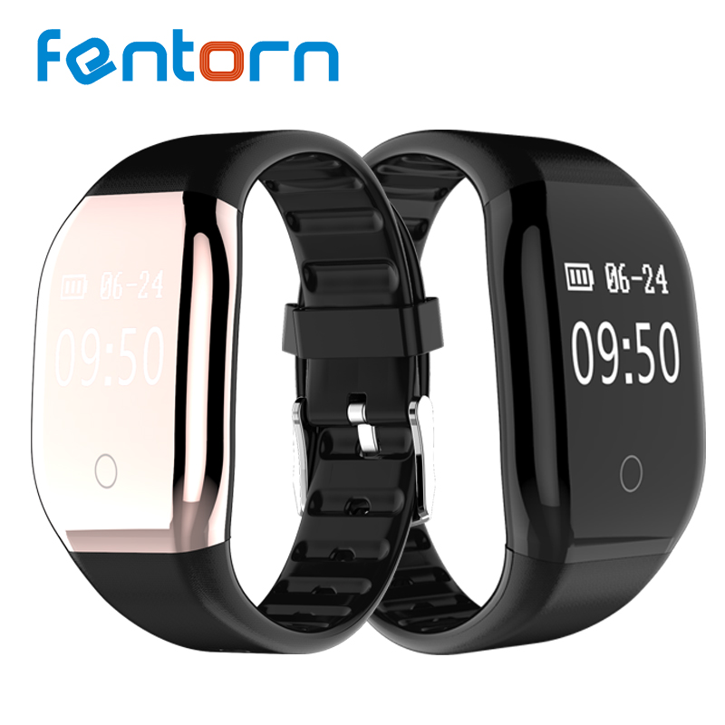 Fentorn 608HR Bluetooth Smart Band Fitness Tracker Smart Wristband Heart Rate Monitor Smart Bracelet Sports Activity