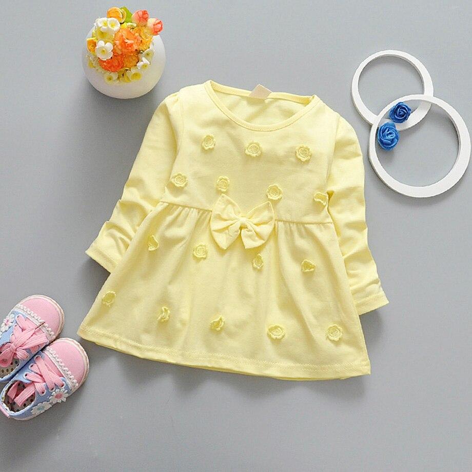 Startist-Dresses-For-Girls-Full-Length-Vestido-Infantil-Flower-Embroidery-Baby-Girls-Dress-Spring-Bow-Baby-Girl-Clothes-2