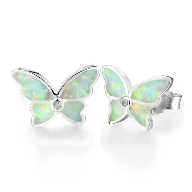 Sterling Silver Earrings for Women | Butterfly Earring