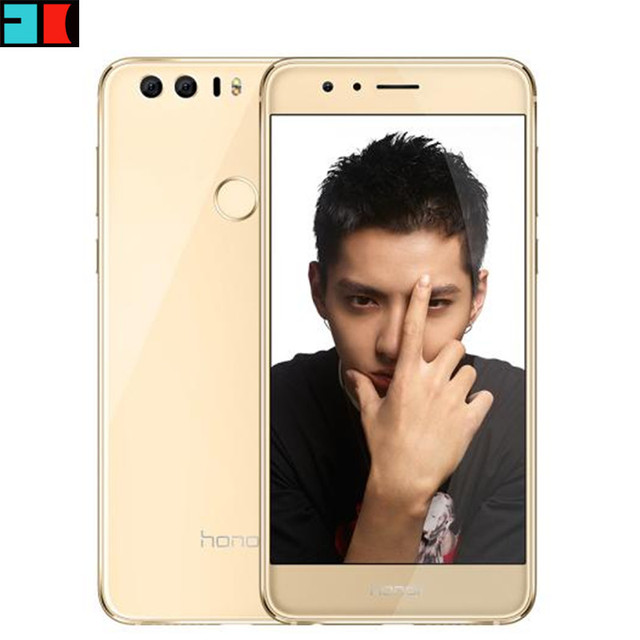 "Original Huawei Honor 8 4G FDD LTE 4GB RAM 64GB ROM Mobile Phone Octa Core Android 6.0 5.2"" FHD 1920*1080 Fingerprint NFC"
