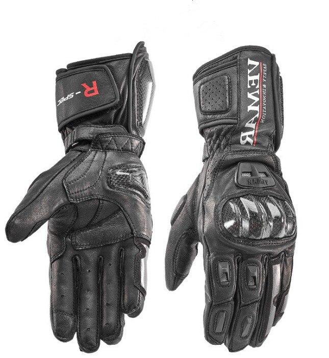 Livraison gratuite 4 couleurs alliage de titane protection moto gants de course gants en cuir pour hommes gants moto GP hors route