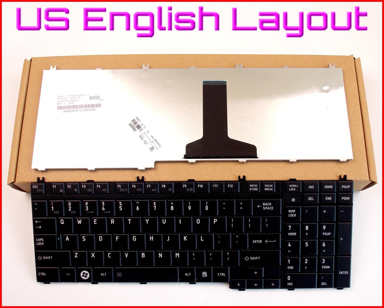 New Keyboard US English Version for Toshiba SATELLITE L505 L505D P500 L555 P305 A500 A505 P305D L555D P500D P505D P300 Laptop