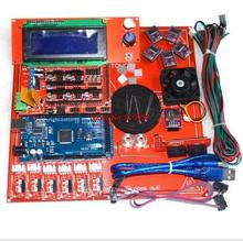 Reprap Ramps 1.4 Kit With Mega 2560 r3 + Heatbed mk2b + 2004 LCD Controller + DRV 8825 Driver + Endstops + Cables For 3D Printer