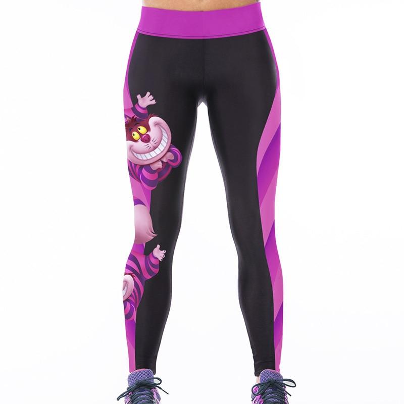 2016 Women American Football Pattern 3d Leggings Stretch: Free Shipping 2018 New Fashion Women High Waist Fitness S