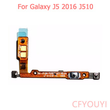 Power On Off Switch Button Flex Cable Repair Parts For Samsung Galaxy J5 2016 J510