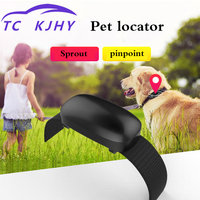 Auto Mini GPS Tracker Pinpoint Anti lost Pet Dog Locator Tracker GPS Collar Cat Anti Lose Mini Animal Waterproof Tracker Display