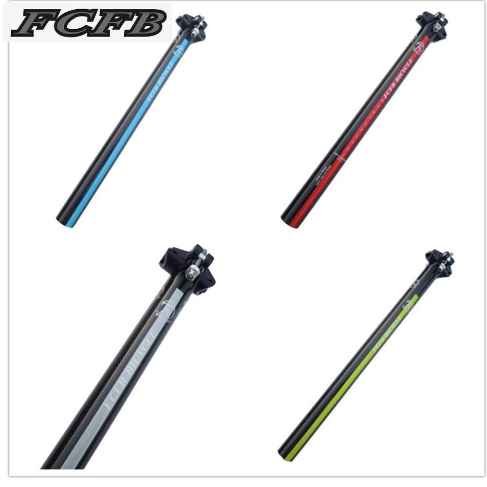 United States FCFB FW green blue silver red carbon seatpost road mtb bike carbon seat post 27.2/30.8/31.6*350/400mm free shipping 2016 united states fcfb fw green blue silver red carbon seatpost road mtb bike carbon seat post