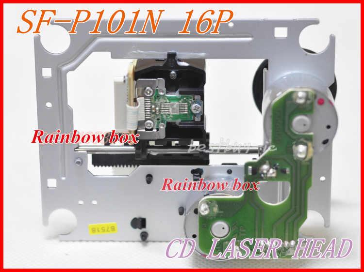 Baru SF-P101N 16 P SFP101N 16pin Optical Pickup Laser Lens Lasereinheit SF P101N Pengganti Sanyo/TEAC CD DVD Player