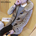 New Casual Mens 100% High Quality Winter Parka With Cap Fashion men jacket Good Quality Mens Long Winter Coat warm clotihing