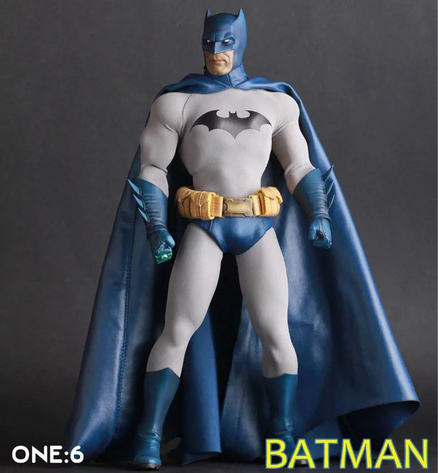 Free Shipping 12 DC Superheroes Batman CT Moveable Blue Cloak Ver. Boxed 30cm PVC Action Figure Collection Model Doll Toy Gift free shipping super big size 12 super mario with star action figure display collection model toy