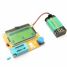 Mega328 M328 LCR-T4 12846 ЖК-цифровой Транзистор тестер метр подсветка диод Триод Емкость ESR метр MOS/PNP/NPN L/C/R