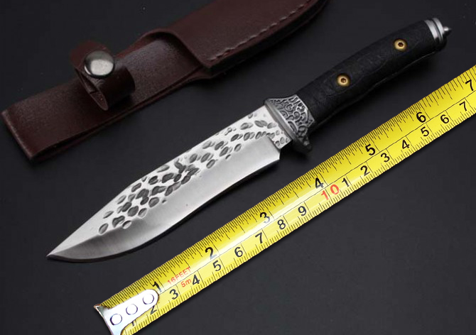 New Forge EDC Tactical Knives 7Cr13Mov Blade G10 Handle Fixed Blade Knife Outdoor Straight Knives Tools Survival Hunting Knife New Forge EDC Tactical Knives 7Cr13Mov Blade G10 Handle Fixed Blade Knife Outdoor Straight Knives Tools Survival Hunting Knife