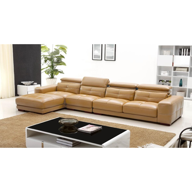 US $1398.0 |Minimalist modern style fancy sofa khaki color Italian leather  sofa sets-in Living Room Sets from Furniture on Aliexpress.com | Alibaba ...