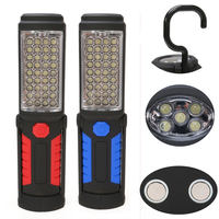 Super Bright USB Charging 36 5 LED Flashlight Work Light Magnetic HOOK Mobile Power For Phone
