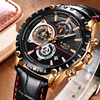 Waterproof Watch Date Chronograph Quartz-Watch Male  1