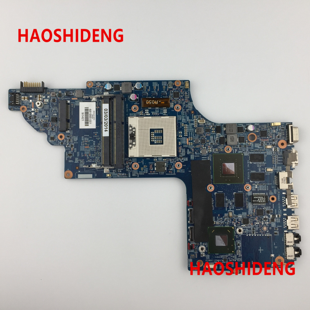 все цены на Free Shipping 681999-001 for HP Pavilion DV7 DV7T-7000 series motherboard with HM77 630M/1G.All functions 100% fully Tested ! онлайн