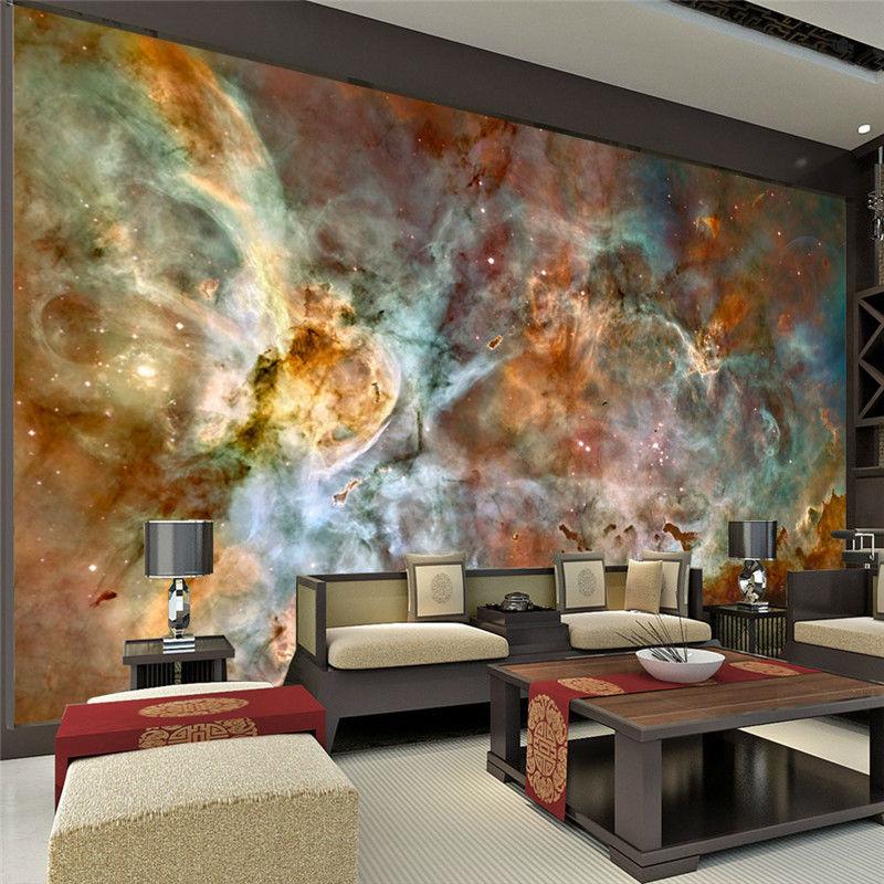 Charming Galaxy Wallpaper Nebula Photo wallpaper 3D Silk ... on Photo Room Decor  id=32542