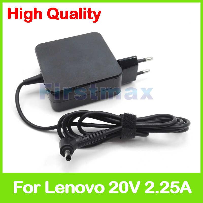 20 V 2.25A laptop ac zasilacz ładowarka do Lenovo 720S 13ARR B110 14IBR E41 20 E41 25 D330 10IGM S130 11IGM S130 14IGM
