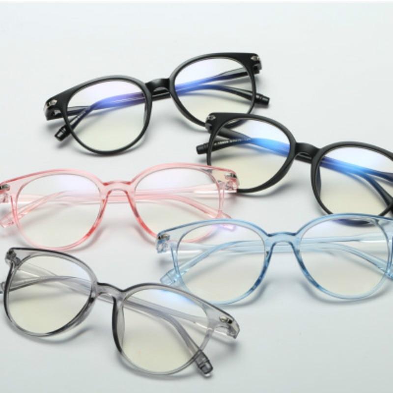 Para estrenar fec84 4ab4a Red Bean 2018 gafas de moda para mujer montura de gafas de hombre montura  de gafas redondas Vintage gafas de lentes transparentes montura de gafas ...