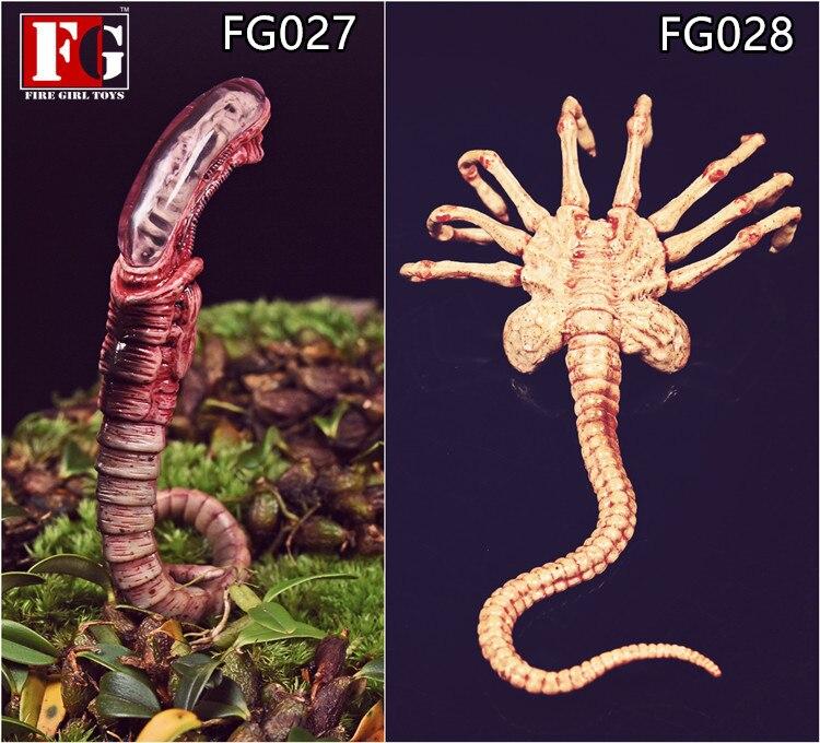Fire Girl Toys 1//6 Predalien Chestburster Facehugger Model 12/'/' Figure Accessory