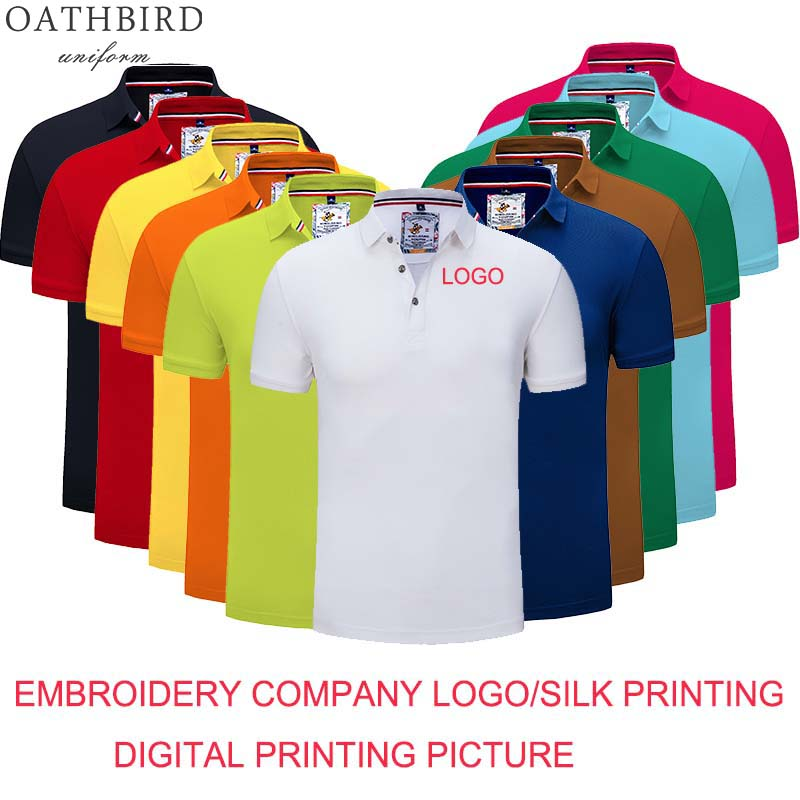 Custom Logo Uniform Polo Shirt /hotel Work Wear With Embroidery Company Logo Or Printing Logo/cleaning Work Uniform