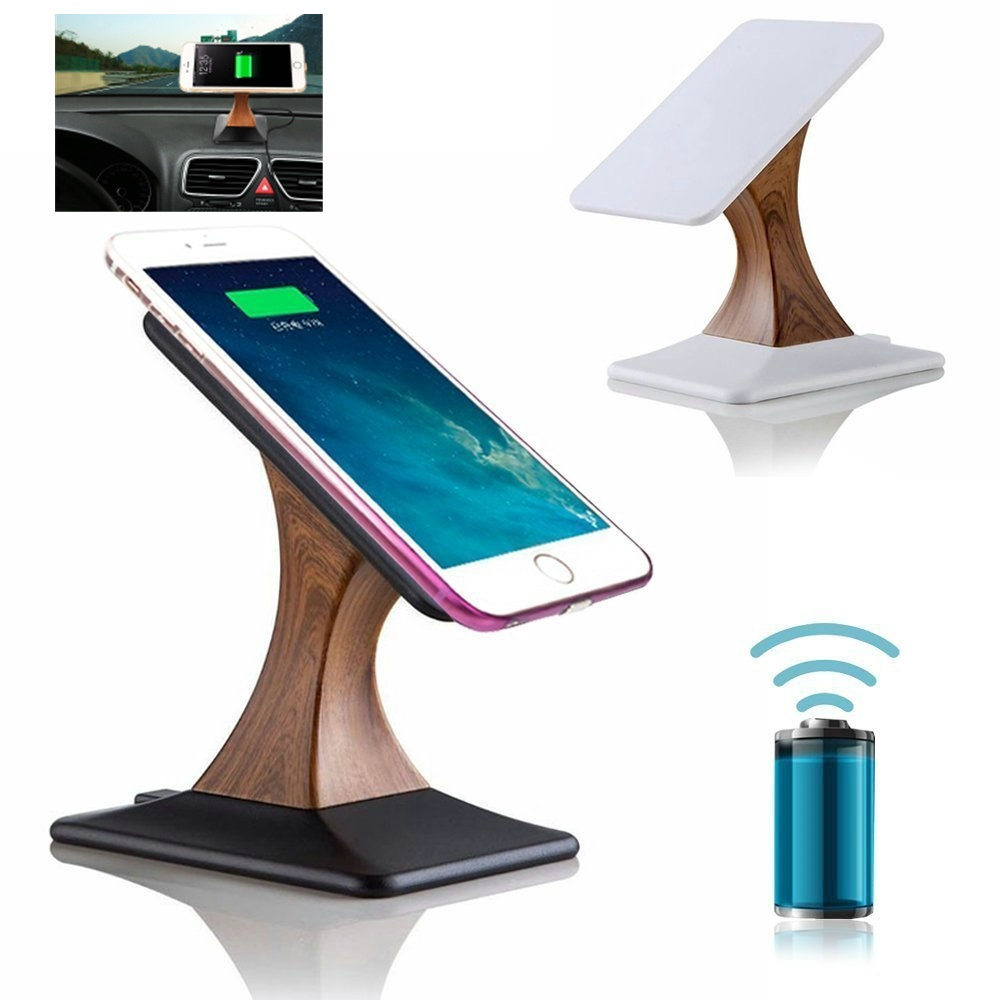 Amazoncom Magnetic QI Wireless Car Charger Mount