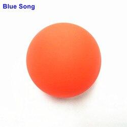 Ледяной хоккейный шар Blue song, травяной круглый катящийся хоккей, нетоксичен, 100% силикон, с высоким восстановлением, без вкуса, мяч для йоги