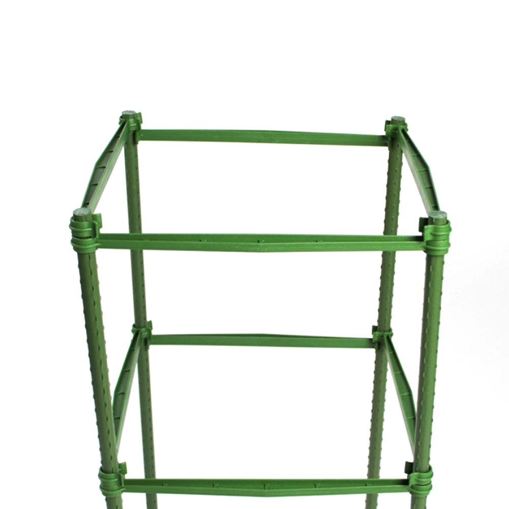 12Pcs 30cm Climbing Vine Rack Stake Arms For Tomato Cage Expandable Trellis Connectors For Any 11mm Diameter Plant Stakes Buckle