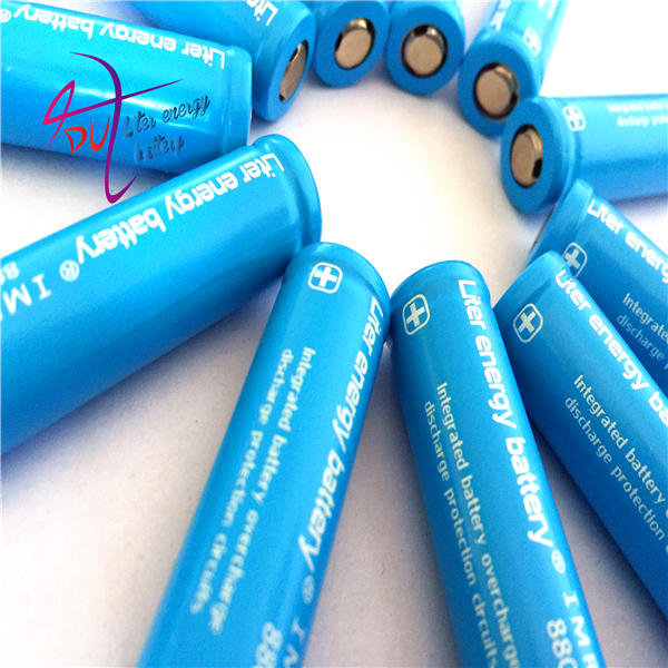 20pcs Liter Energy Battery 3.7v 880mah Icr 14500 Li-ion Rechargeable Battery With Safety Relief Valve + Battery Storage Box