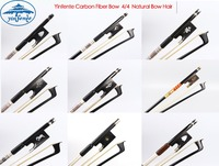 Professional Carbon Fiber Violin Bow 4/4 Full Size Ebony Wood Natural Bow Hair