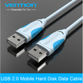Vention High Speed USB 2.0 Data Transfer Cable 0.5m 1m 2m Male To Male Plug and Play USB Cable