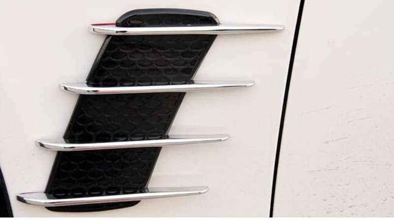 2 Pieces Stiker Mobil shark gills outlet untuk DACIA kunci stepway dokker lodgy duster sandero logan sandero logan 2 loga aksesoris