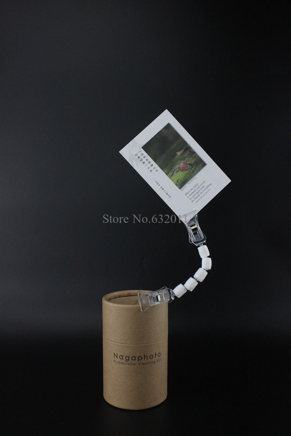 Image 3 - POP price card clamp advertising tag clip label holder adjustable clear plastic sign holder memo note paper photo clip-in Furniture Accessories from Furniture