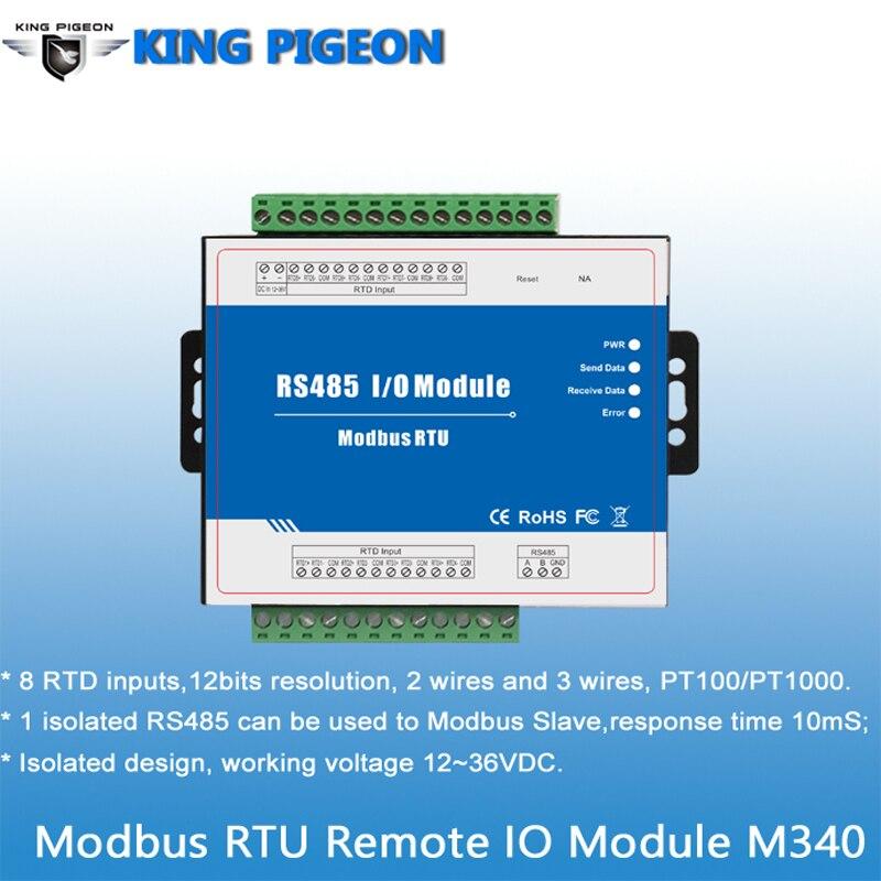 Modbus RTU Remote IO Module M340