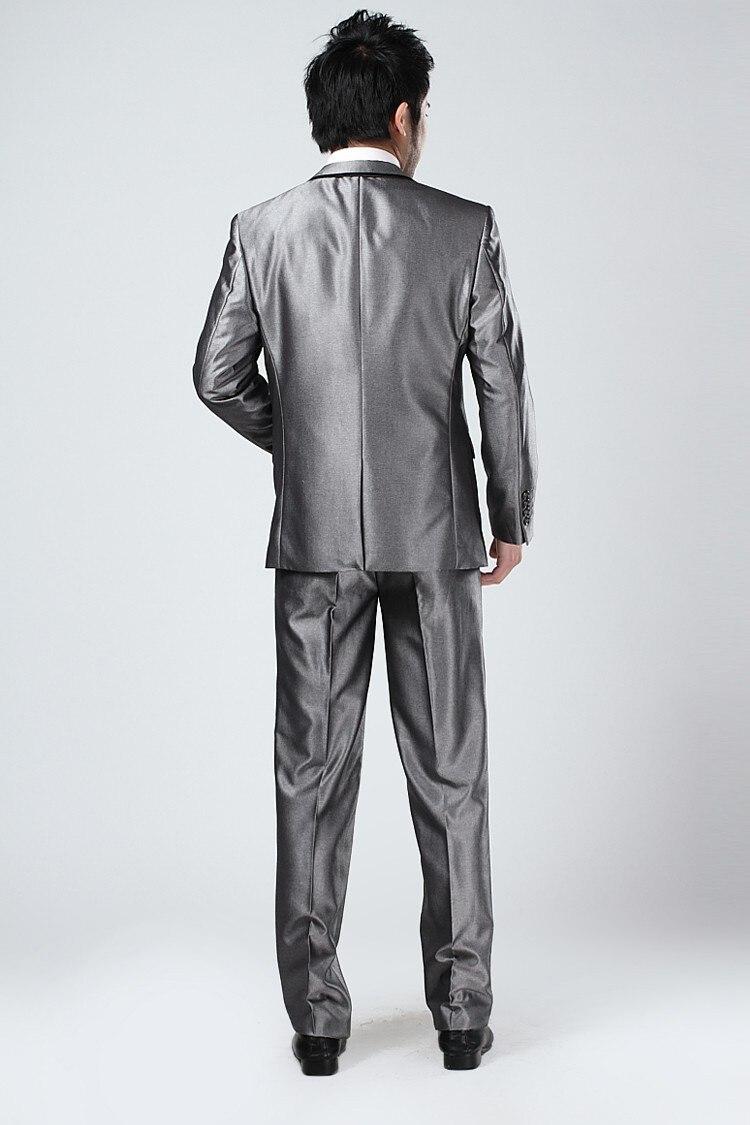 Suits2 Argent Deux Chaude Picture Picture Nouveau Mode Hommehigh Vente Boutons Pièces Style Hommes Revers Qualité Cran Custume as As Terno jacketpantbowtie rXXqxAwv