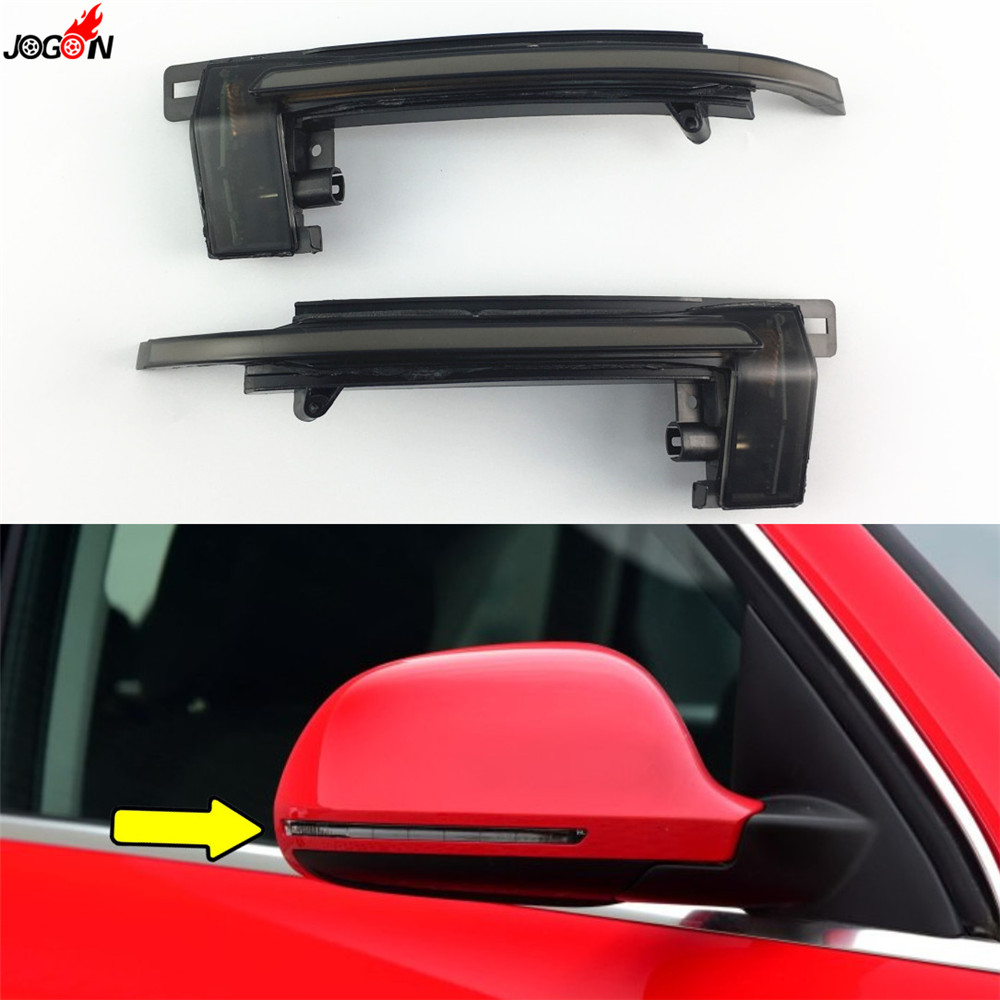 Dynamic Turn Signal LED Side Mirror Indicator Blinker For Audi A4 S4 A5 S5 B8 Prefacelift Q3 RS A6 S6 C6 A8 A3 S3 Car Lights formatter board c7769 c7779 for hp designjet printers 500 800 510 500ps 800ps a1 a0 42 24 printer plotter