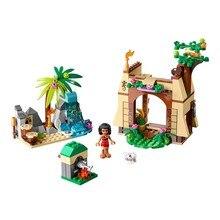 Lepin Pogo Bela Princess Boneca Moana Island Adventure Girls Building Blocks Bricks Compatible legoe Toys Gifts for Children