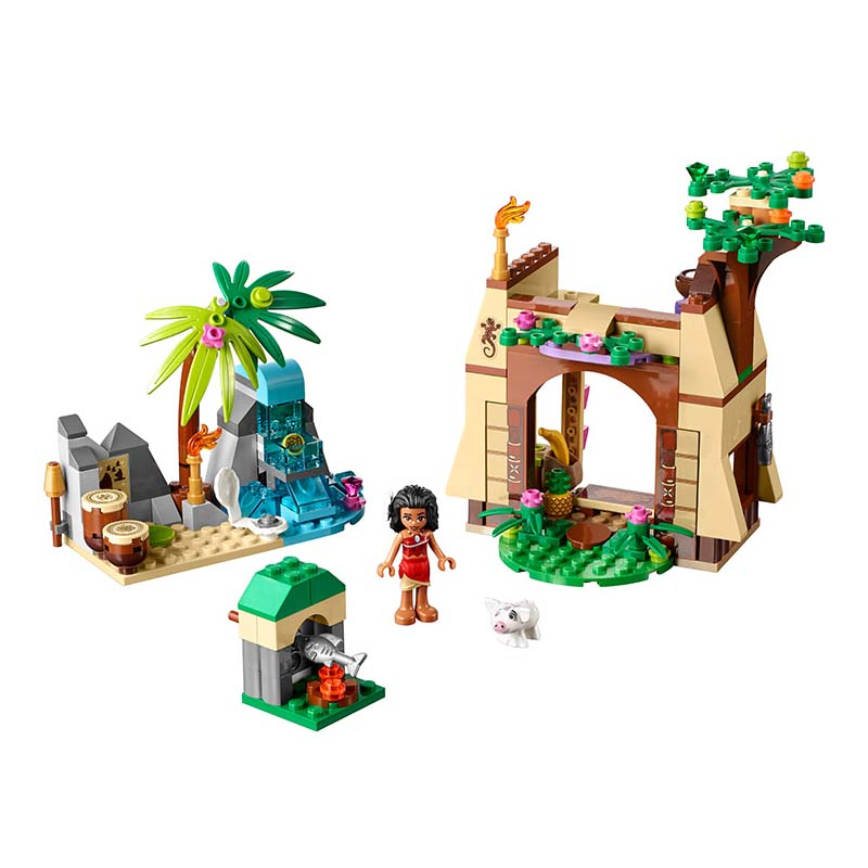 Lepin Pogo Bela Princess Boneca Moana Island Adventure Girls Building Blocks Bricks Compatible legoe Toys Gifts for Children bela 10439 compatible lepin city arctic helicrane building blocks policeman figure toys for children girls