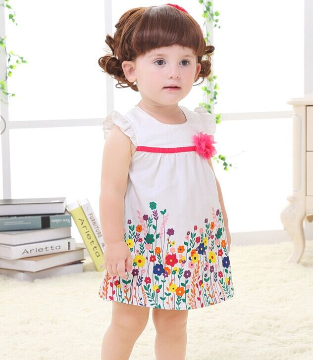 5a1c1b1f6 2015 new summer newborn 0 3 6 months 1 2 years old baby girl baby ...