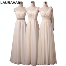 real sample champagne mix dress long a-line cap sleeve bridesmaid new  arrival dresses dress 46b612ab06c3