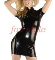 black latex skirts for woman