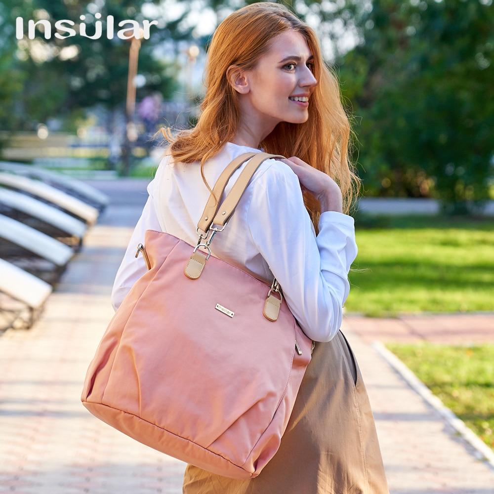 Бесплатная доставка 2019 новый стиль сумка для мам детские пеленки рюкзак для беременных женщин сумки непромокаемые большой емкости Мода и п...