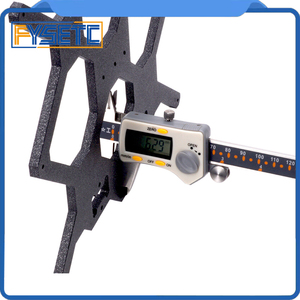 Image 4 - Cloned Original Prusa i3 MK3 3D Printer Aluminum Y Carriage With 3pcs U bolts Holding LM8UU For Prusa i3 3D Printer Parts