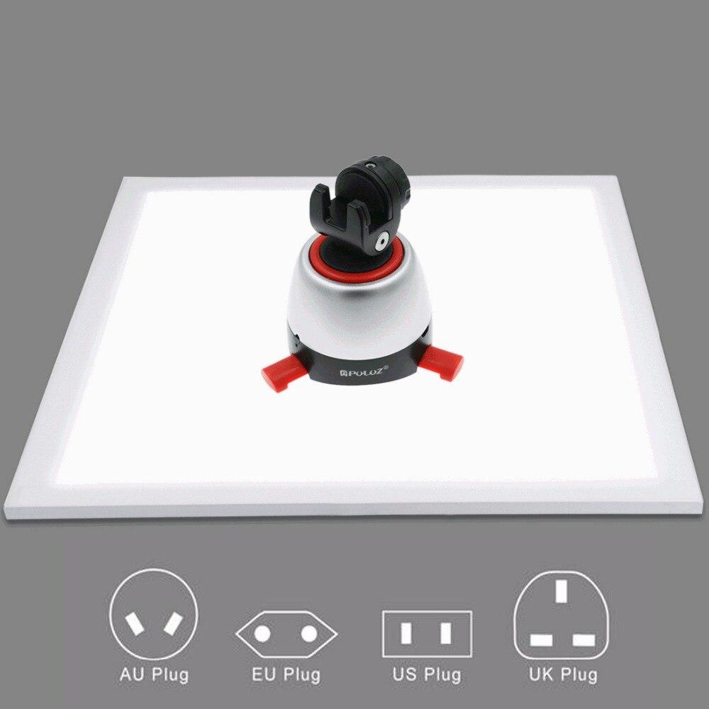 1200LM светодиодный фотографии бестеневые на свет тень без лампы Панель для фотосъемки палатки Box и не полярных приглушить свет