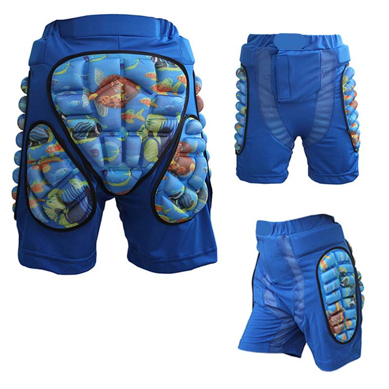 Japy Skate Child Sports Racing Skiing Safety Protective Motorcycle Snowboard Skating Roller Armor Pad Shorts Hip Protector